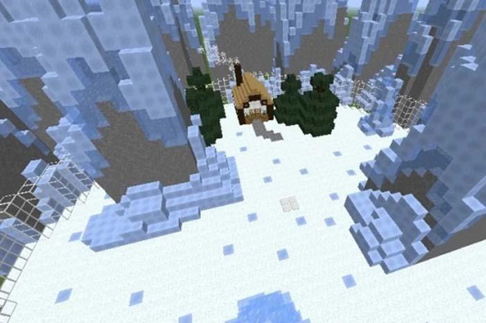 معرفی بهترین Seed ماینکرافت Frozen Wasteland