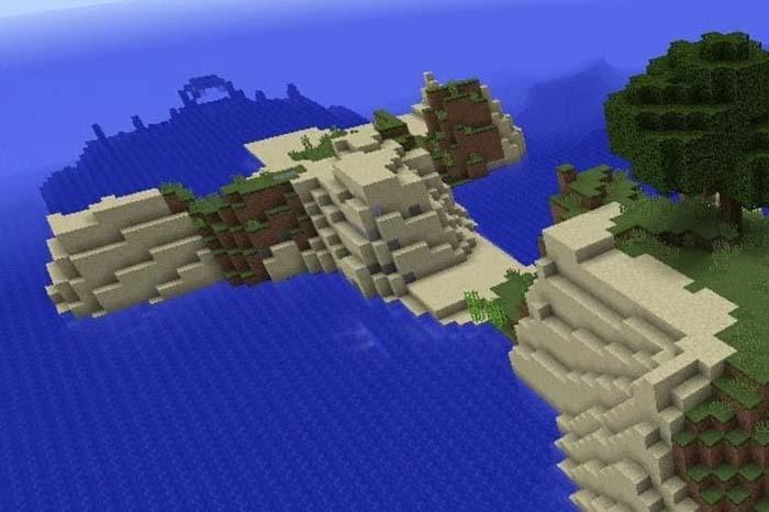 معرفی بهترین Seed ماینکرافت Ocean Monument Island
