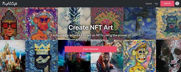 1 نحوه ایجاد هنر NFT با هوش مصنوعی بدون نیاز به کدنویسی یا مهارت هنر دیجیتال